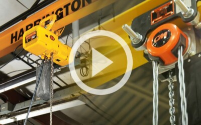 What Type Of Chain Is Required To Be Used On A Chain Hoist: Video