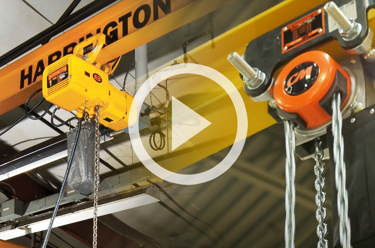 What Type of Chain is Required to be Used on a Chain Hoist?