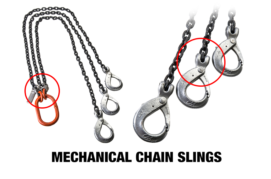 Welded Vs. Mechanical Chain Slings: Mechanical Chain Slings