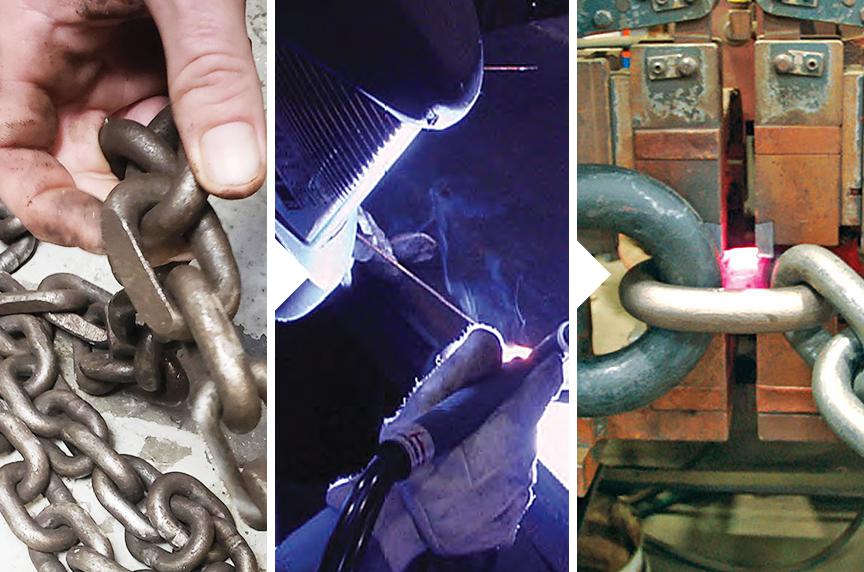 Welded Vs. Mechanical Chain Slings: Repair