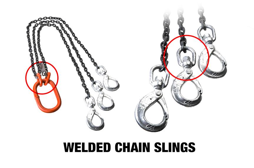 Welded Vs. Mechanical Chain Slings: Welded Chain Slings
