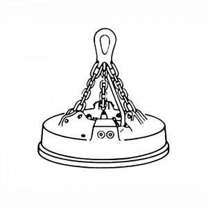 CM Herc-Alloy 800 Bail-Type Magnet Chain Assemblies
