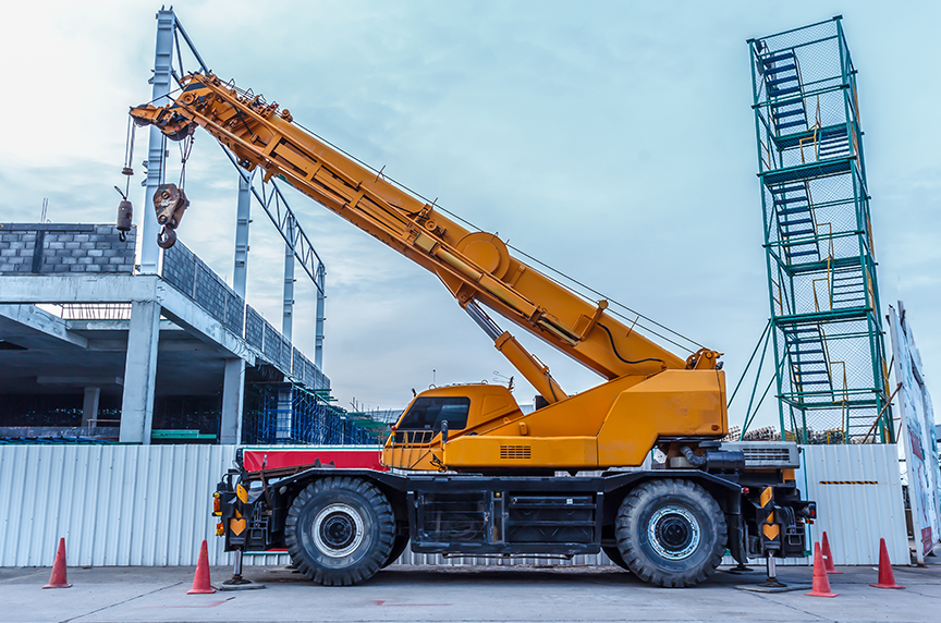 A Brief Mobile Cranes Glossary: Basic Terms You Should Know: Rough Terrain Cranes