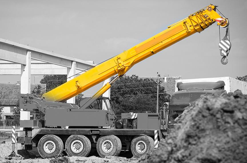 A Brief Mobile Cranes Glossary: Basic Terms You Should Know: Crane Boom