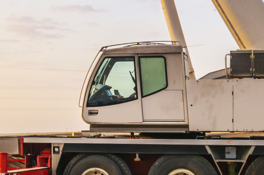 A Brief Mobile Cranes Glossary: Basic Terms You Should Know: Crane Cab