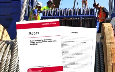 What is ASME B30.30, and How Does It Apply to Crane Ropes Inspection: Featured