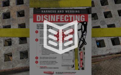 Harness & Webbing Disinfecting: Literature