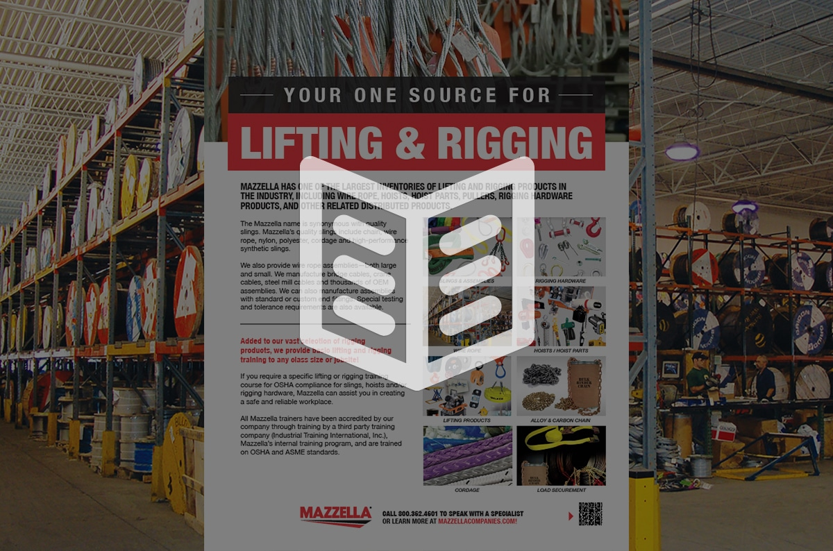 Lifting & Rigging Solutions: Literature