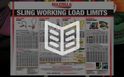 Slings Working Load Poster: Literature