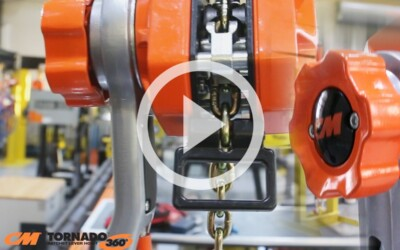 CM Tornado 360 Lever Chain Hoist: Uses, Best Practices, & Durability: Video