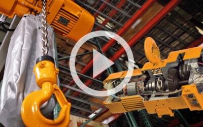 Harrington SNER Electric Chain Hoist: Background, Design, & Best Fit: Video