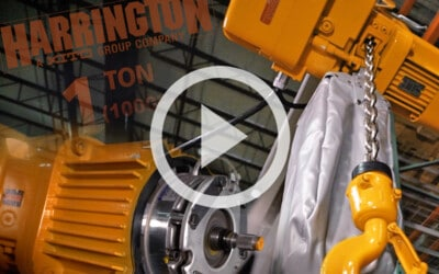 Harrington SNER Electric Chain Hoist: Features, Types, and Resources: Video
