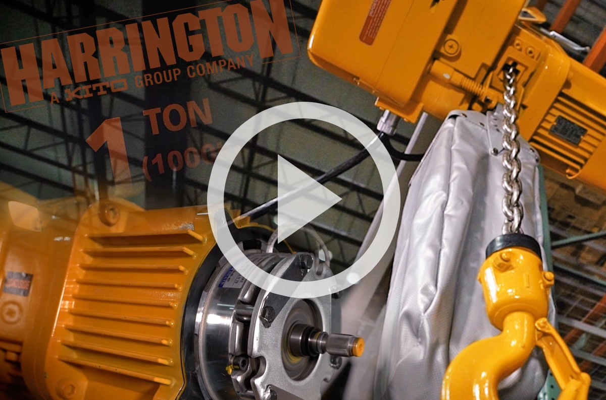 Harrington NER 3-Phase Electric Hoist: Features, Types, & Resources