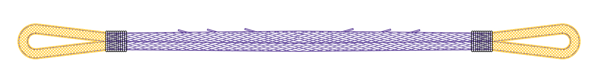 Cortland Endless Grommet Sling Illustration