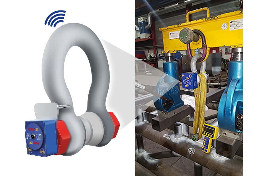 How Do Crosby / Straightpoint Load Cells Make Your Overhead Lifts Safer: Loadshackle In Use