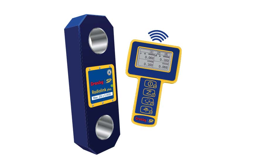 How Do Crosby / Straightpoint Load Cells Make Your Overhead Lifts Safer: Radiolink Plus