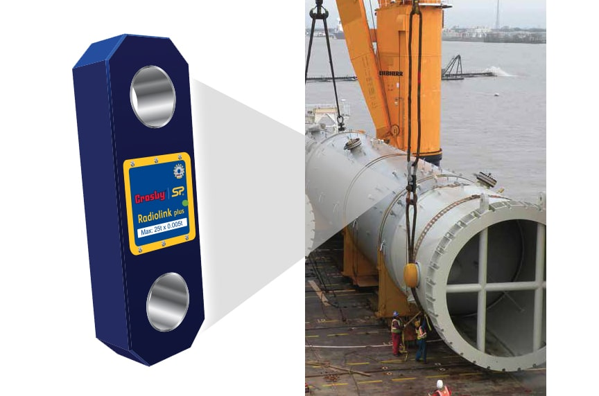 How Do Crosby / Straightpoint Load Cells Make Your Overhead Lifts Safer: Radiolink Plus In Use