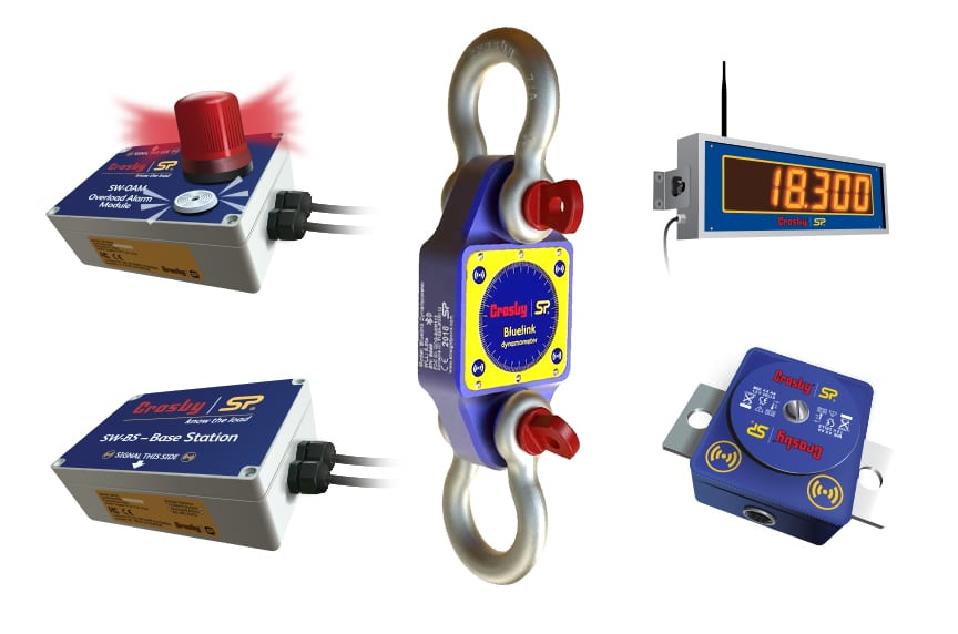 How Do Crosby / Straightpoint Load Cells Make Your Overhead Lifts Safer: Wireless Load Cell & Accessories