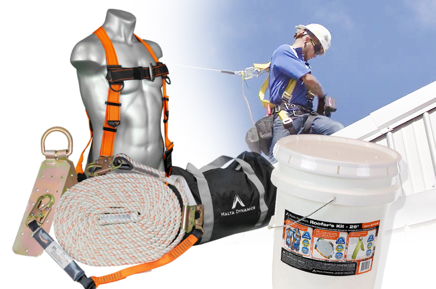Fall Protection for Roofers: Systems, OSHA Regulations, & Best Fits: Roofers Kit