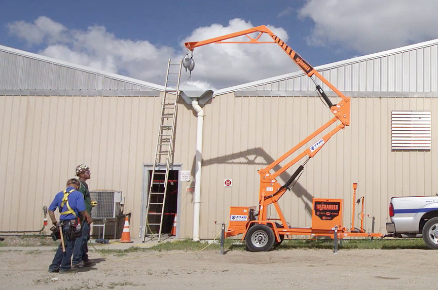 Fall Protection for Roofers: Systems, OSHA Regulations, & Best Fits: The Grabber Mobile Fall Protection