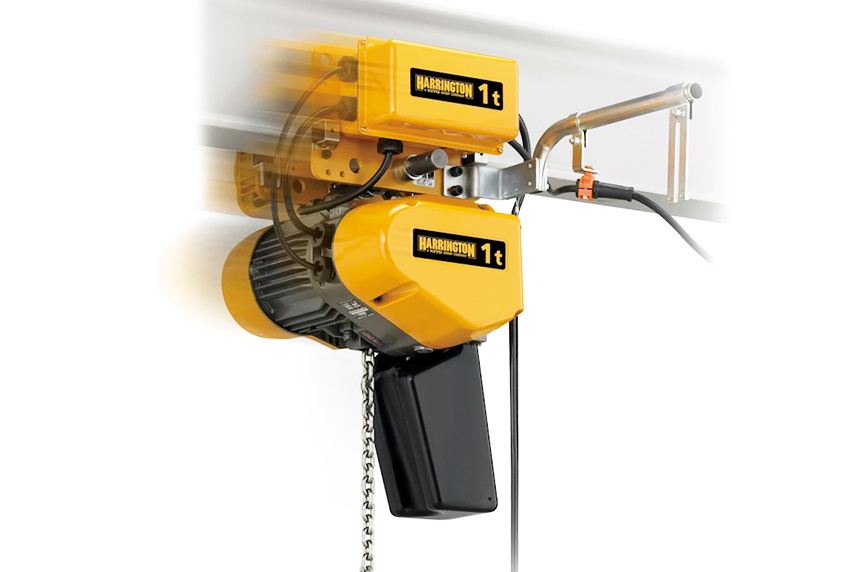 Harrington EQ / SEQ Electric Chain Hoist: Design, Features, Benefits: EQ / SEQ Hoist Uses