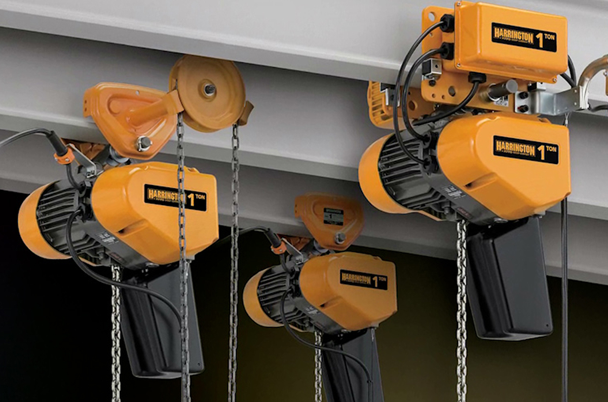 Harrington EQ/SEQ Electric Chain Hoists: Design, Features, and Benefits