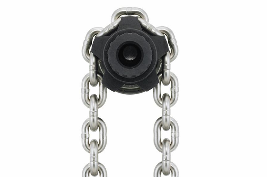 Harrington EQ / SEQ Electric Chain Hoist: Design, Features, Benefits: Load Chain & Sheave