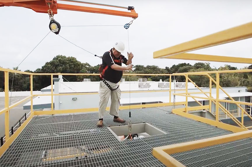 How Can Fall Prevention Systems Make Working at Height Safer: Guardrails In Use