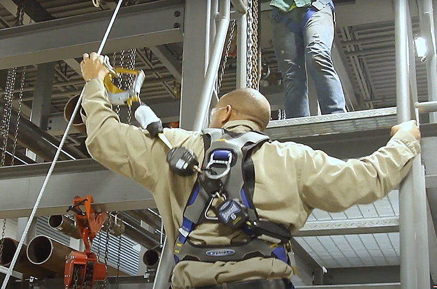 How Can Fall Prevention Systems Make Working at Height Safer: Fall Prevention System