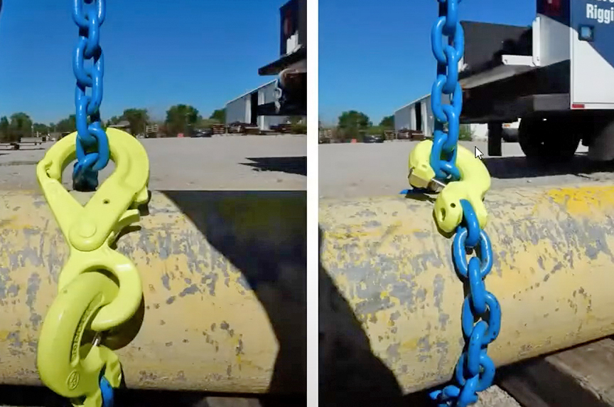 How Can the Gunnebo Industries GrabiQ Chain Sling Save Time, Money: Application 2