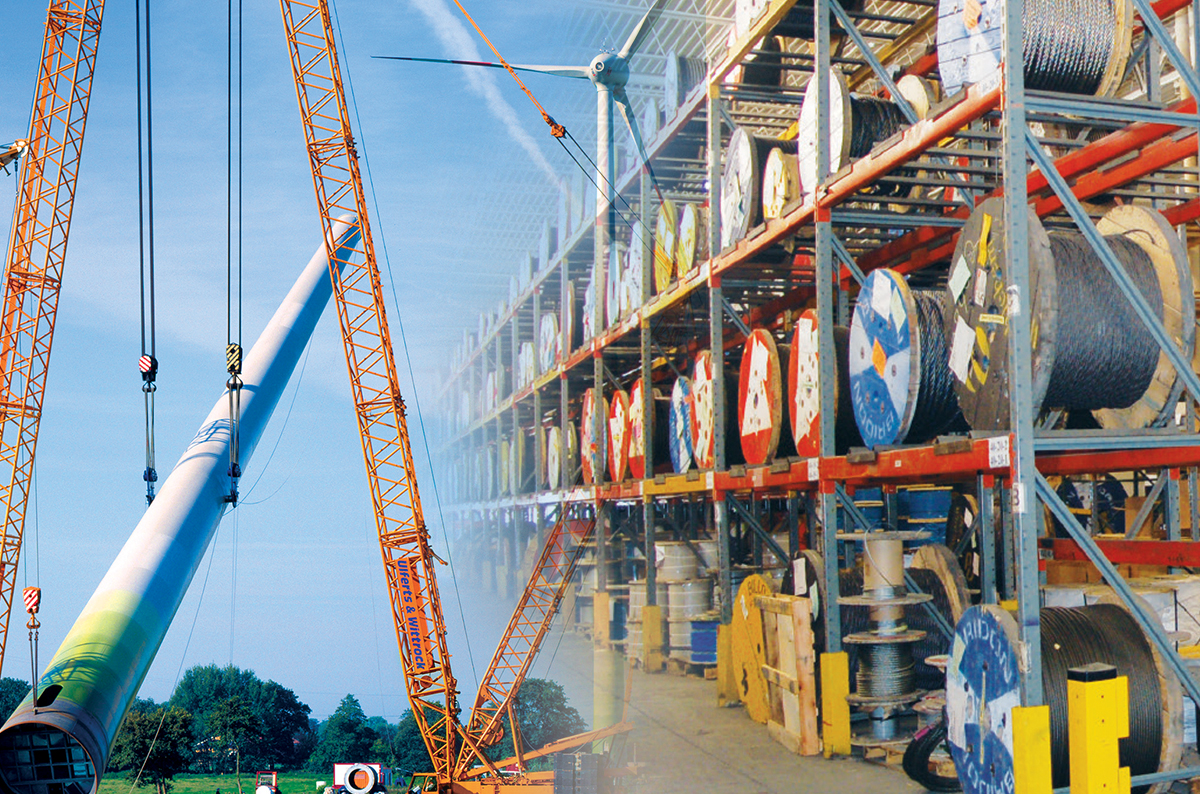 Why Is Mazzella's Process for Ordering Crane Ropes so Comprehensive?