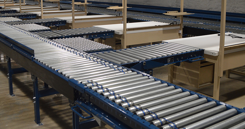 Pallet Racking, Storage Racking and Conveyor Systems in Florida: 24v Motor