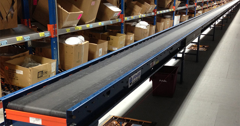 Pallet Racking, Storage Racking and Conveyor Systems in Florida: Belt