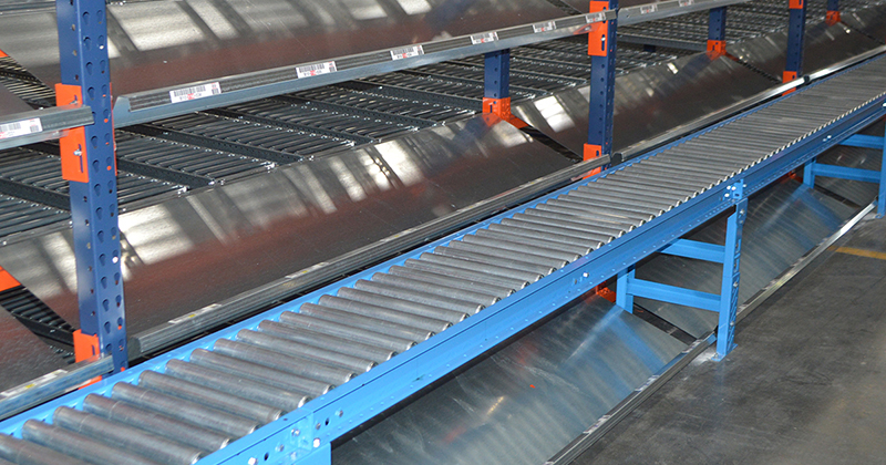 Pallet Racking, Storage Racking and Conveyor Systems in Florida: Gravity Roller
