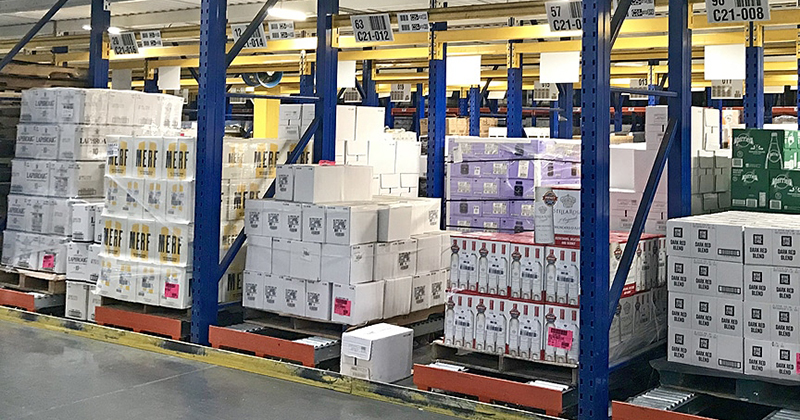 Pallet Racking, Storage Racking and Conveyor Systems in Florida: Pallet Flow Racks