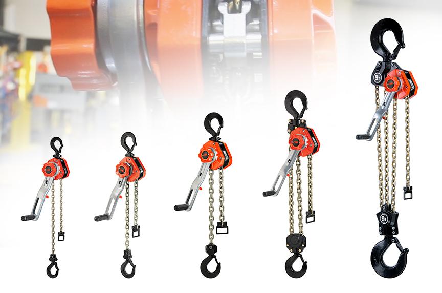 CM Tornado 360 Lever Chain Hoist: Design, Features, and Best Fits: All Hoist Models