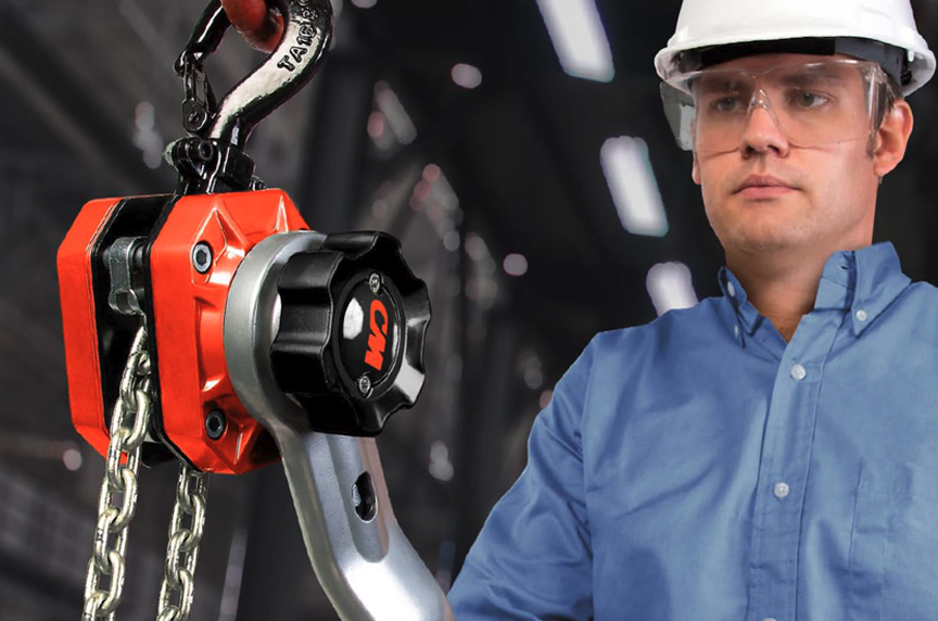 CM Tornado 360 Lever Chain Hoist: Design, Features, and Best Fits: Hoist In Use