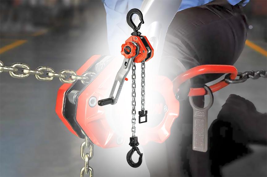 CM Tornado 360 Lever Chain Hoist: Design, Features, and Best Fits: Main