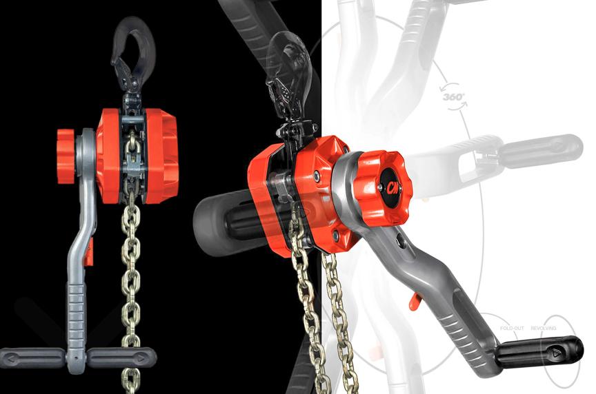 CM Tornado 360 Lever Chain Hoist: Design, Features, and Best Fits: Sidewinder