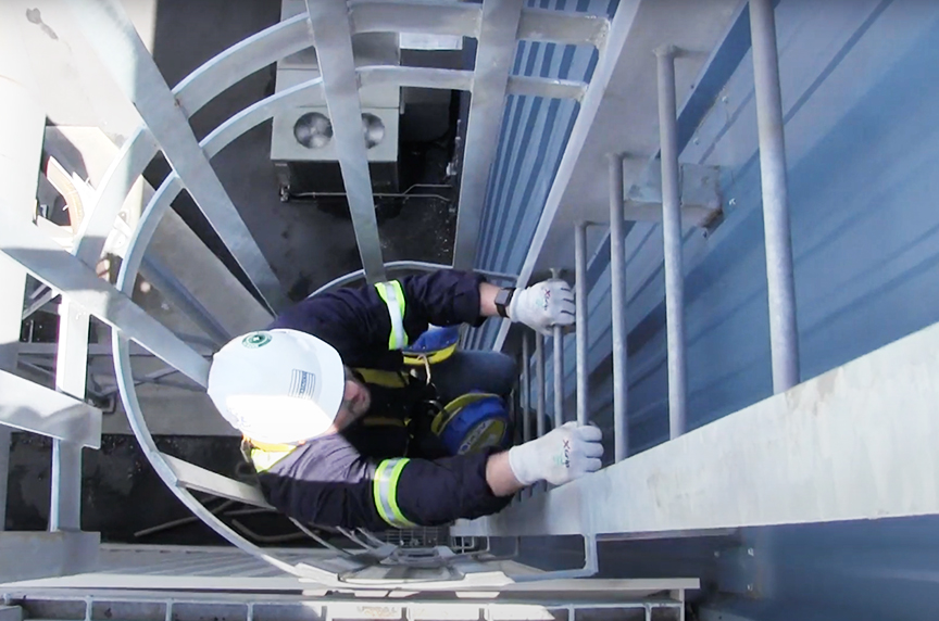 Fall Protection: Common Terms, Systems, & OSHA Regulations: Fall Protection System
