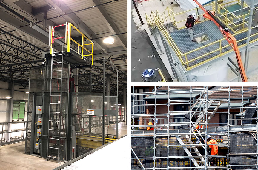 How Can Fall Prevention Systems Make Working at Height Safer: Platforms Installed 2