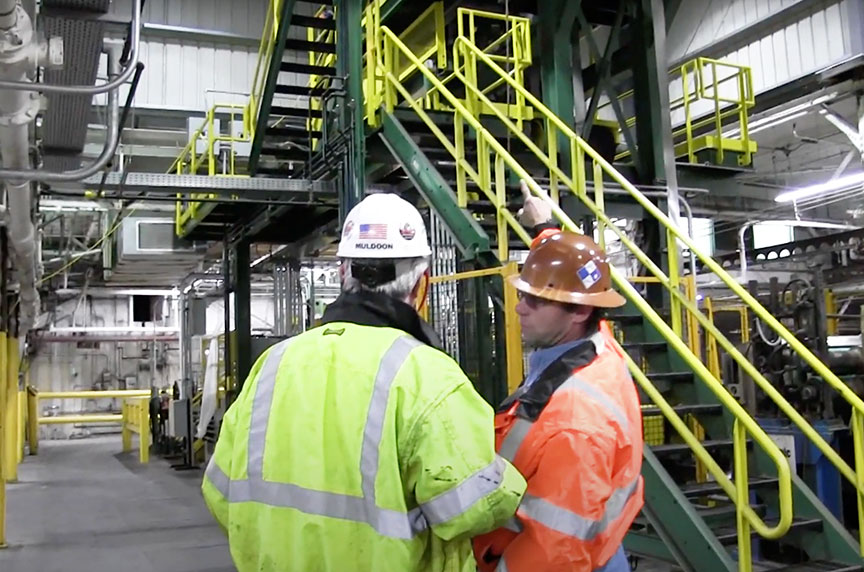 How Can Fall Prevention Systems Make Working at Height Safer: Stairways Installed 2