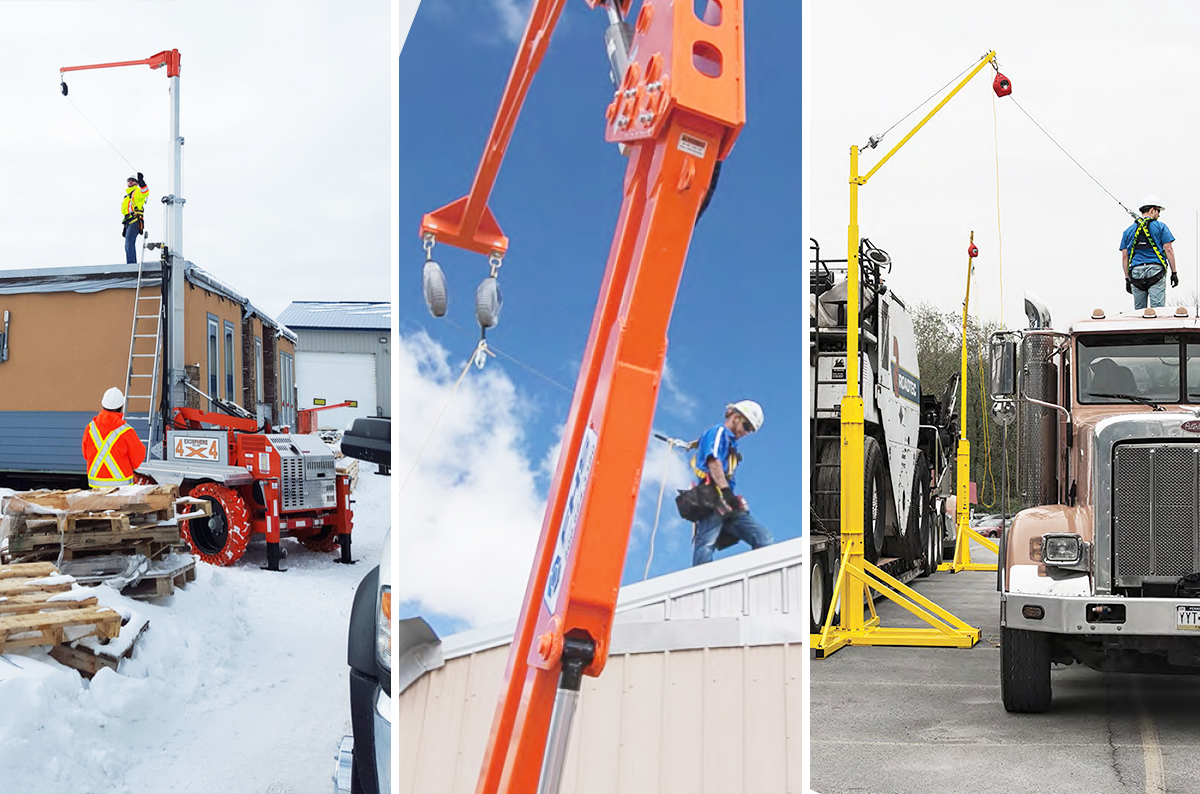 Mobile Fall Protection: Systems, Components, Best Fit Applications: Featured