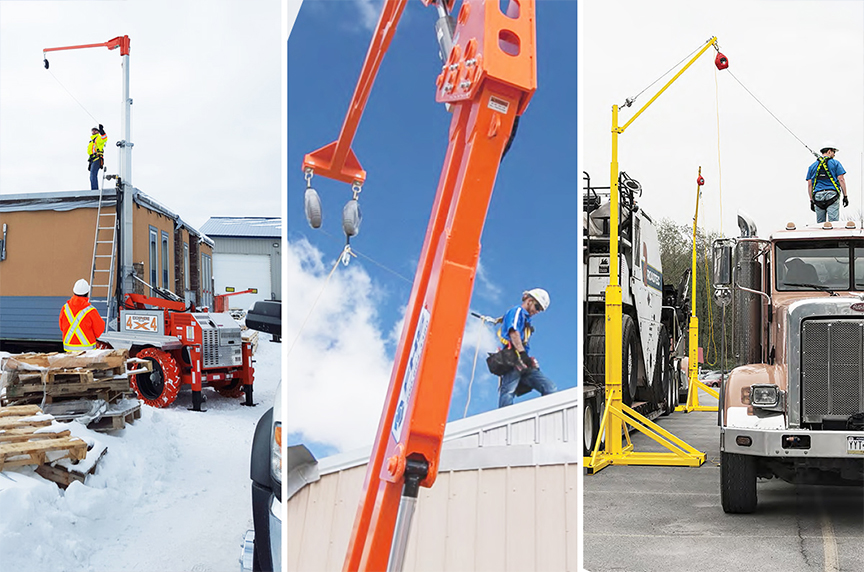 Mobile Fall Protection: Systems, Components, Best Fit Applications: Mobile Fall Protection Systems