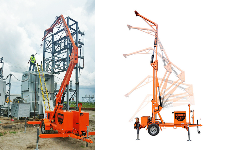 Mobile Fall Protection: Systems, Components, Best Fit Applications: Mobile Fall Protection Systems: The Grabber