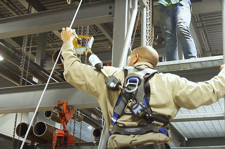 OSHA Hierarchy of Controls: Reducing Hazards for Working at Height: Fall Restraint