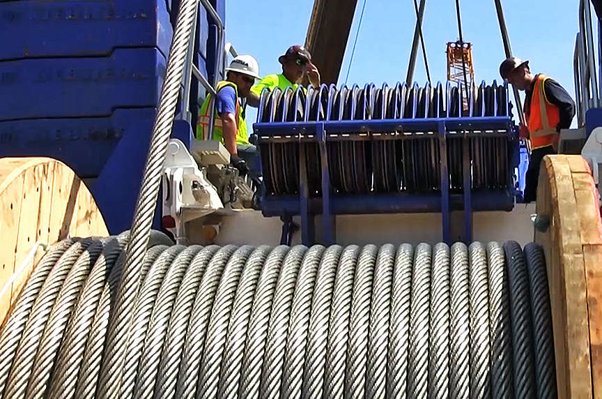 Why is Mazzella's Process for Ordering Crane Ropes so Comprehensive: Crane Rope On Drum