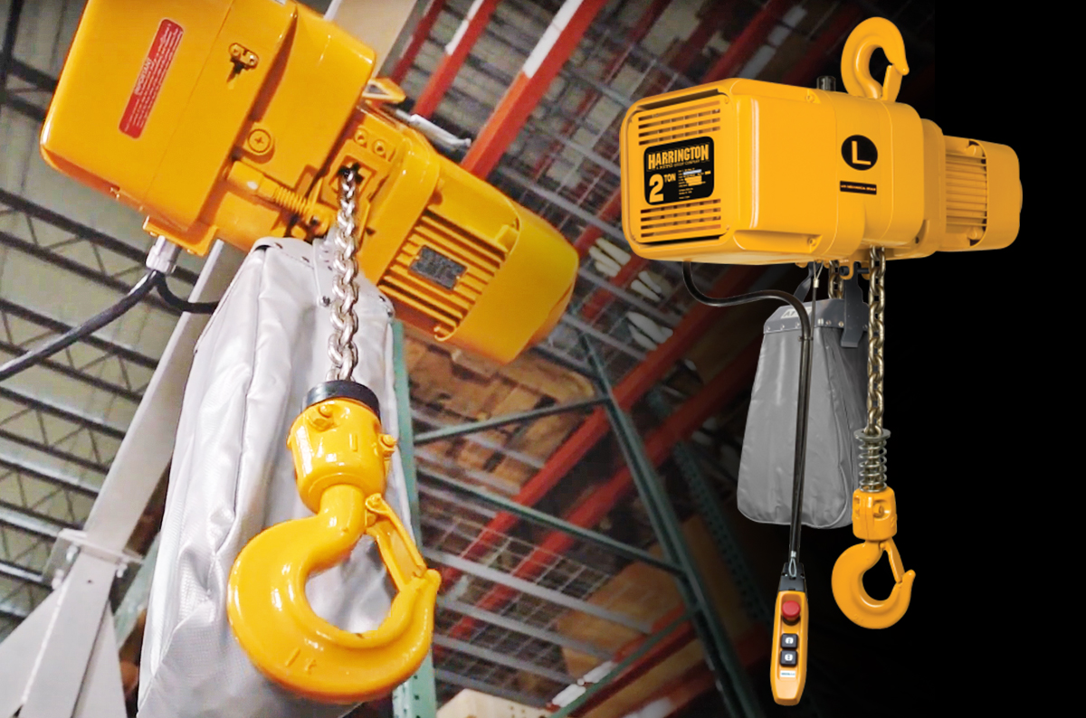 Harrington NER 3 Phase Electric Chain Hoist: History, Design, Best Fits: Featured