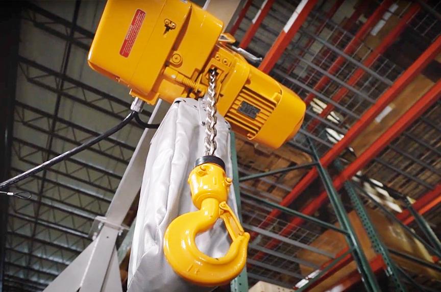 Harrington NER 3 Phase Electric Chain Hoist: History, Design, Best Fits: NER Electric Chain Hoist