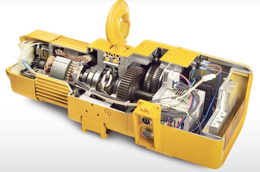 Harrington NER 3 Phase Electric Chain Hoist: History, Design, Best Fits: NER Electric Chain Hoist Inspection